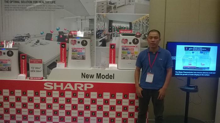 Máy lọc không khí Sharp FP-F30E chính hãng, nhập khẩu Thái Lan, lọc bụi, khử mùi, tiêu diệt vi khuẩn hiệu quả cho phòng 21m2