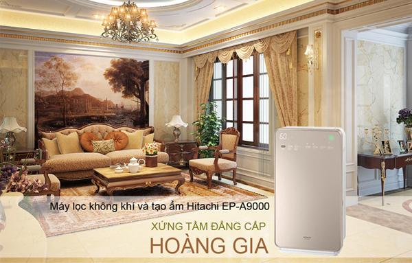 Hitachi EP-A9000 sở hữu bộ lọc HEPA H13 và thiết kế đẳng cấp