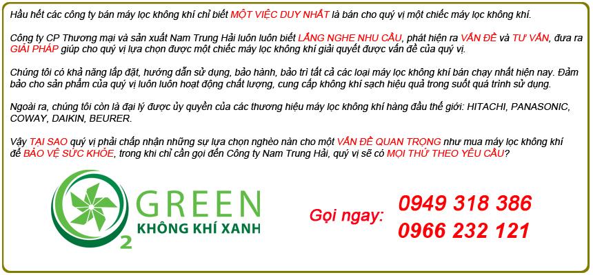 Lý do nên mua máy hút ẩm Coway AD-1615A tại công ty Nam Trung Hải