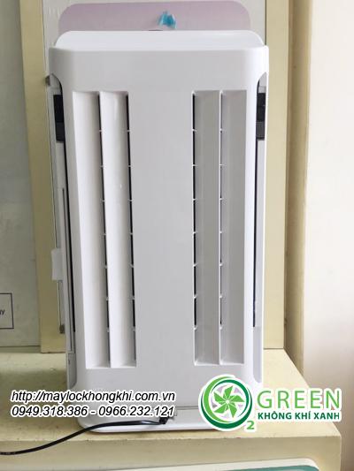 Máy lọc không khí và tạo ẩm Hitachi ep-m70e mặt sau sản phẩm