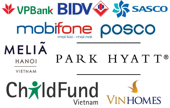 Khách hàng tiêu biểu của công ty cổ phần thương mại và sản xuất Nam Trung Hải