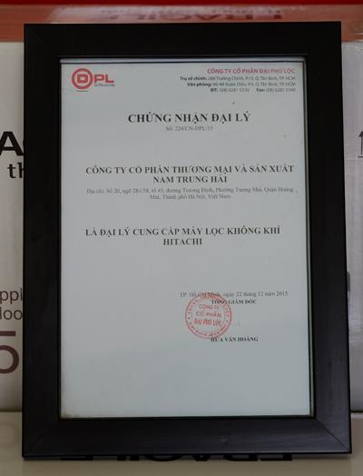 Không Khí Xanh - Đại lý ủy quyền máy lọc không khí Hitachi tại Việt Nam