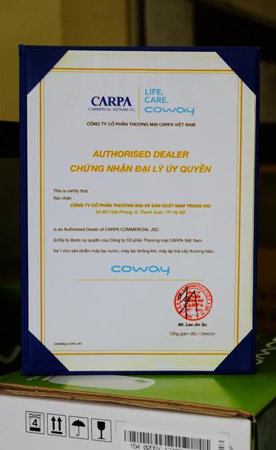 Không Khí Xanh - Đại lý ủy quyền máy lọc không khí Coway tại Việt Nam