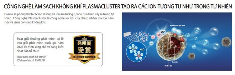 Máy lọc không khí Sharp phân phối bởi công ty Nam Trung Hải
