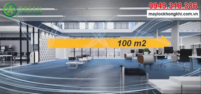 Máy lọc không khí Coway AP-3008FH nhập khẩu Hàn Quốc diện tích sử dụng 100m2