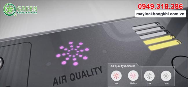Máy lọc không khí Coway AP-3008FH nhập khẩu Hàn Quốc đèn báo chất lượng không khí