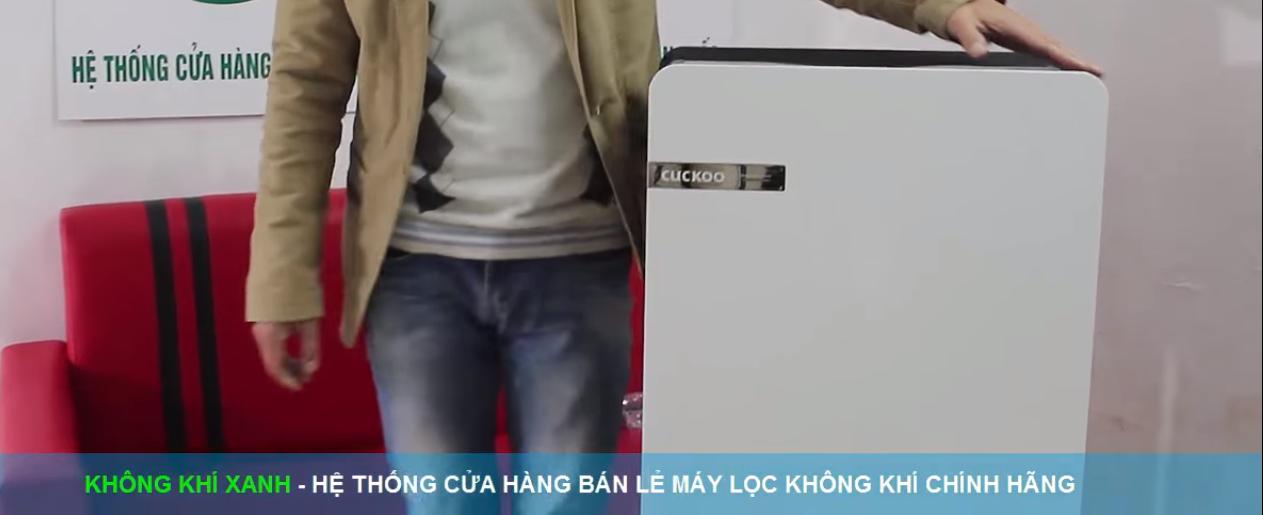 thiết kế máy lọc không khí cuckoo