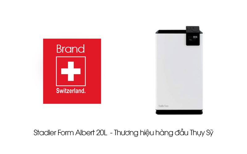 Máy hút ẩm Stadler Form Albert 20L Thương hiệu Thụy Sỹ