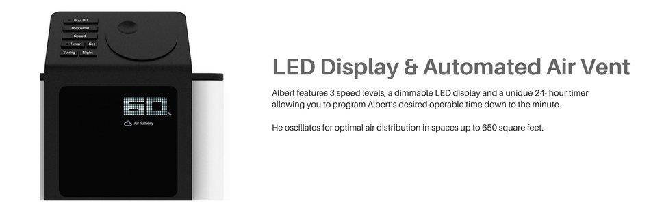 Bảng điền khiển máy hút ẩm Stadler Form Albert
