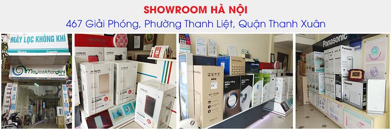 Showroom hà nội bán máy lọc không khí