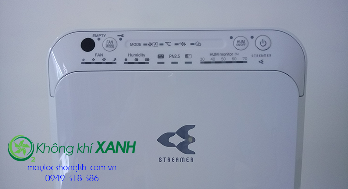 Bảng điều khiển máy lọc không khí và tạo ẩm MCK55TVM6