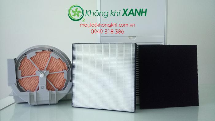 Bộ 3 màng lọc máy lọc không khí Daikin MCK55TVM6 - HEPA, khử mùi, tạo ẩm