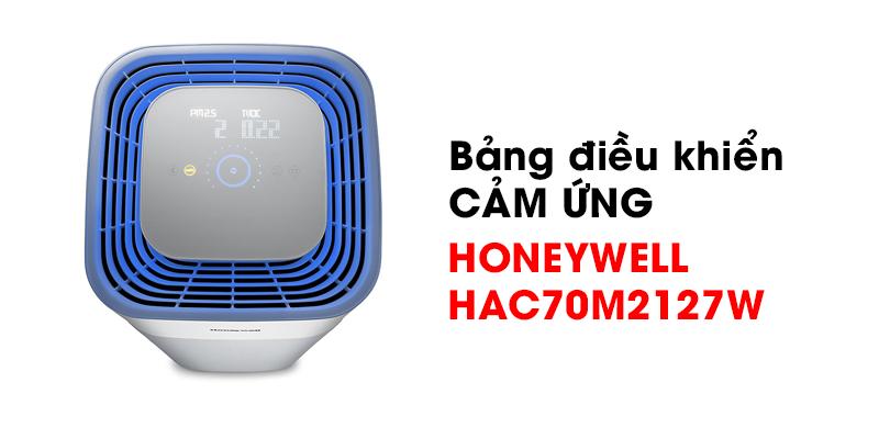 Bảng điều khiển cảm ứng máy lọc không khí Honeywell HAC70M2127W