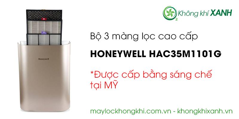 3 màng lọc cao cấp máy lọc không khí Honeywell HAC35M1101G