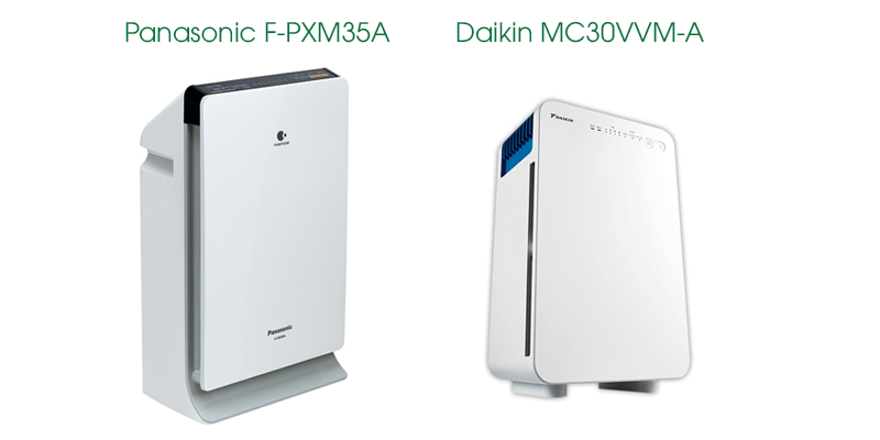 So sánh Daikin MC30VVMA-A và Panasonic F-PXM35A trong phân khúc 4 triệu đồng