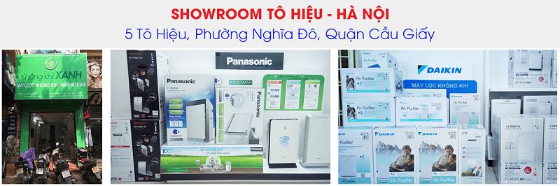 KHÔNG KHÍ XANH - Showroom Tô Hiệu - Hà Nội