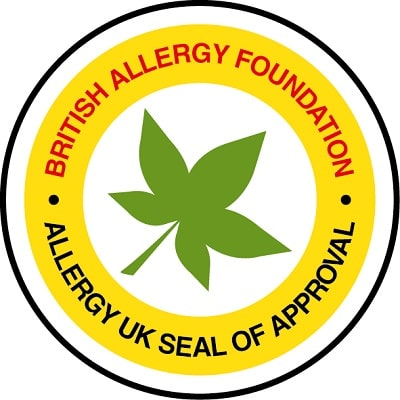 Dấu kiểm định do Hiệp hội nghiên cứu các chất gây dị ứng của Anh (Allergy UK) cấp về khả năng làm giảm hiệu quả các tác nhân gây dị ứng.