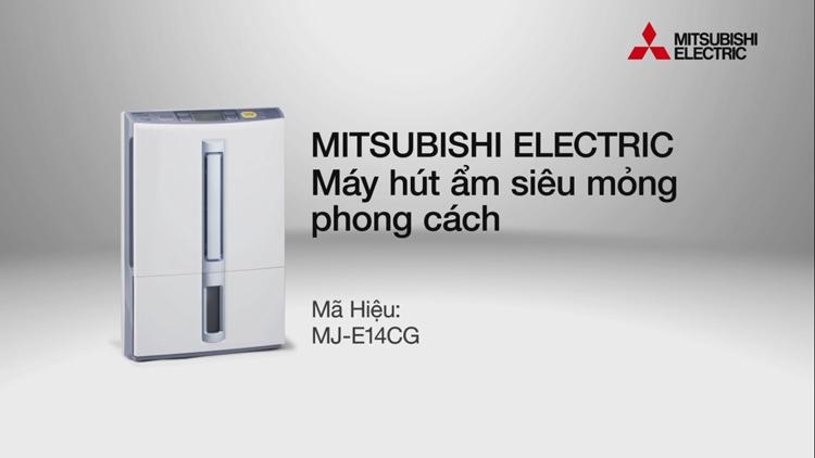 Máy hút ẩm Mitsubishi MJ-E14CG-S1-SWE nhập khẩu từ Nhật Bản
