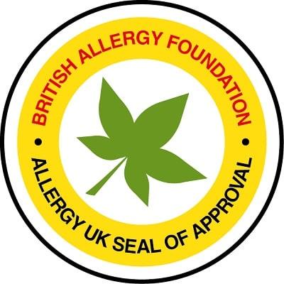 Chứng nhận Allergy UK từ Anh Quốc