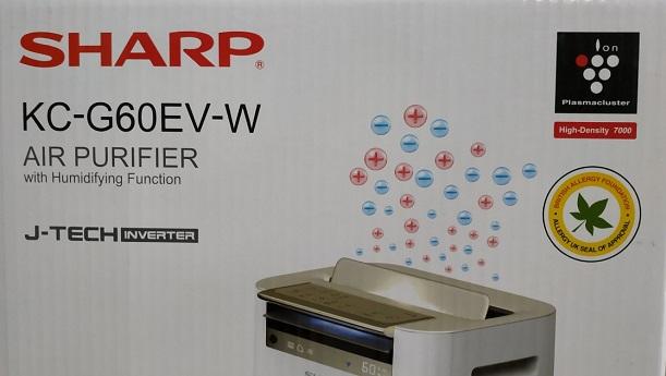 Công nghệ J-TECH inverter trang bị trên máy lọc không khí Sharp 2019