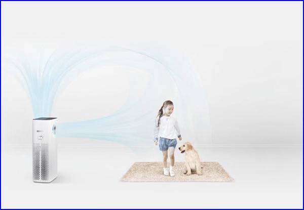 Cho đến đầu năm 2019, Coway AP-1516D là model duy nhất sở hữu 2 luồng không khí sạch lưu thông