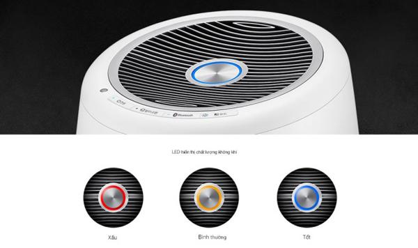 Cảm biến chất lượng không khí trên máy lọc không khí Winix Tower QS