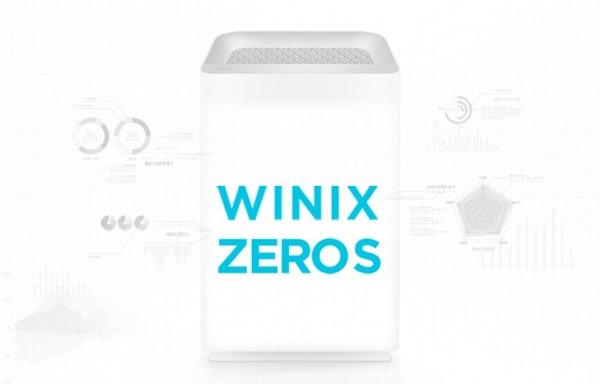 Máy lọc không khí Winix Zero S với thiết kế tối ưu
