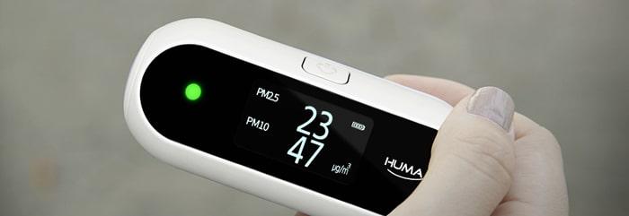 Thiết bị đo chất lượng không khí Huma-i cao cấp nhập khẩu Hàn Quốc