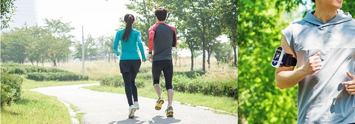 Mang theo thiết bị đo chất lượng không khí Huma-i khi đi tập thể dục