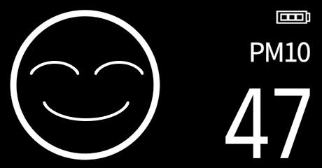 Biểu tượng (icon) chất lượng không khí trung bình