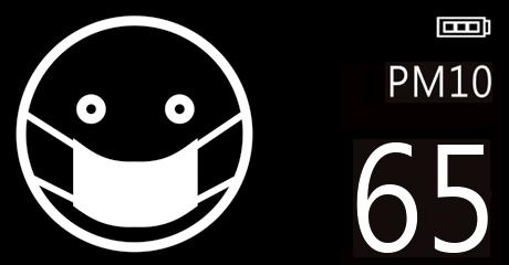 Biểu tượng (icon) chất lượng không khí kém