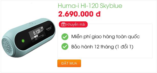 Không Khí Xanh chào bán thiết bị đo chất lượng không khí Huma-i HI-120
