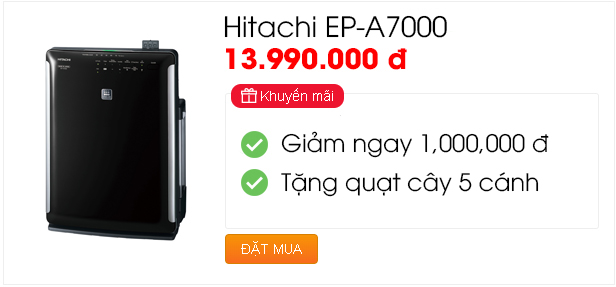 Khuyến mãi chào hè - Hitachi EP-A7000