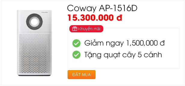Khuyến mãi chào hè - Coway AP-1516D