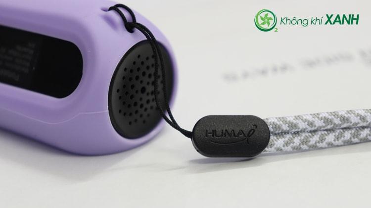 Dây đeo thời trang, tiện lợi trong quá trình sử dụng thiết bị đo chất lượng không khí Huma-i