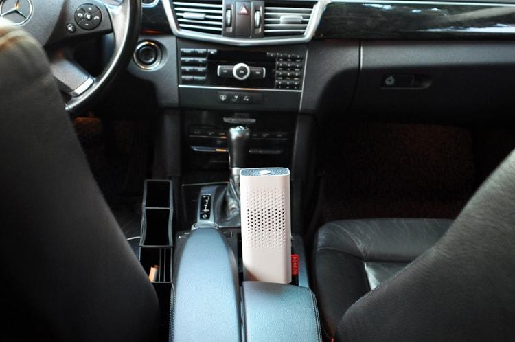 Máy lọc không khí Boneco P50 dùng trên ô tô
