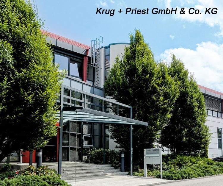 Trụ sở của Công ty Krug & Priester tại Balingen Đức