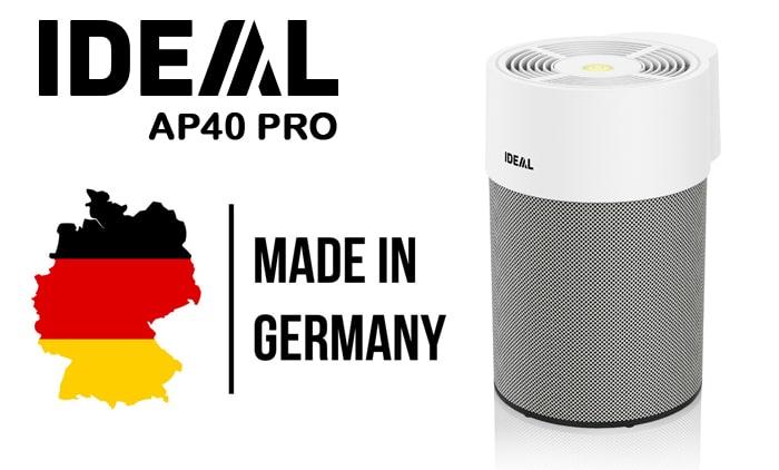 Máy lọc không khí IDEAL AP40 PRO sản xuất và nhập khẩu nguyên chiếc từ CHLB Đức