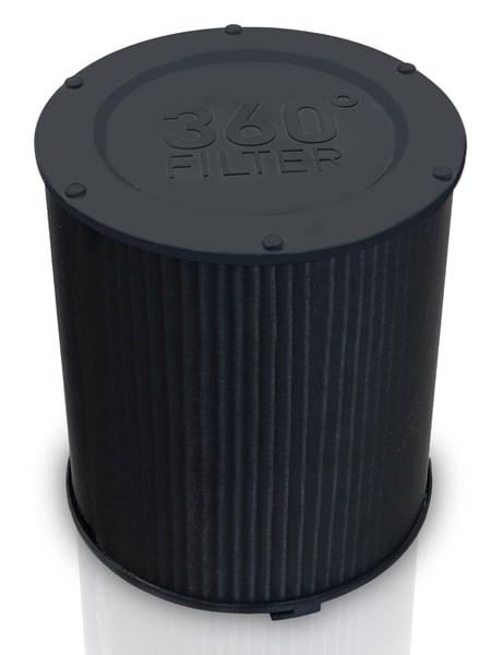 Bộ lọc 360 của máy lọc không khí IDEAL AP40 PRO với công nghệ chế tạo cao cấp làm sạch không khí hiệu quả nhất