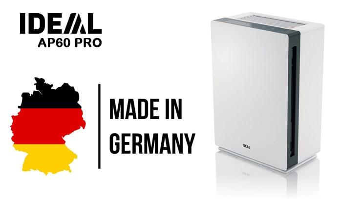 Máy lọc không khí IDEAL AP60 PRO sản xuất và nhập khẩu nguyên chiếc từ CHLB Đức
