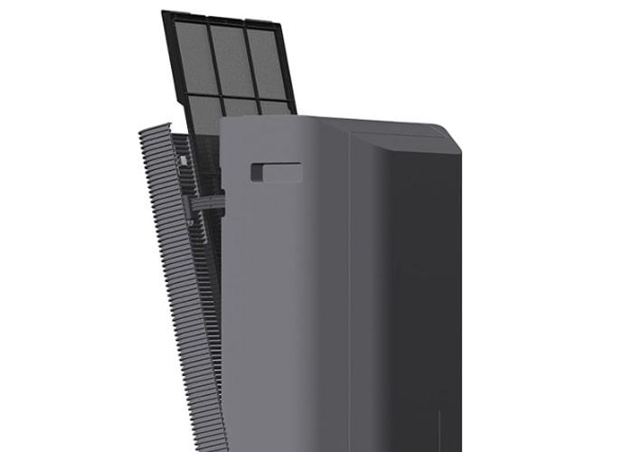 Máy lọc không khí Hitachi EP-PF120J dễ dàng tháo lắp bộ lọc