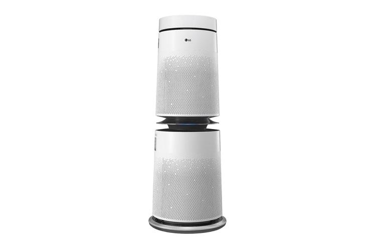 Bánh xe của Máy lọc không khí 360° 2 tầng PWH8DBA được lắp đặt rất dễ dàng