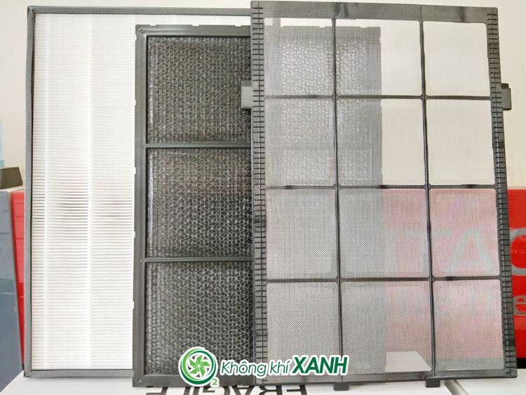 Bộ màng lọc của máy lọc không khí và tạo ẩm Hitachi EP-L110E(X)