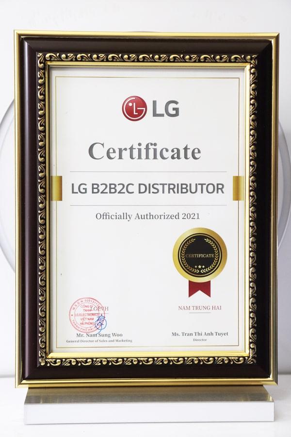 Không Khí XANH (Công ty CP Thương mại và Sản xuất Nam Trung Hải) là Nhà phân phối ủy quyền chính thức các sản phẩm máy lọc không khí LG PuriCare