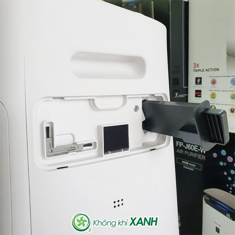 Máy lọc không khí tạo ẩm Sharp KI-L60V-W ảnh 6
