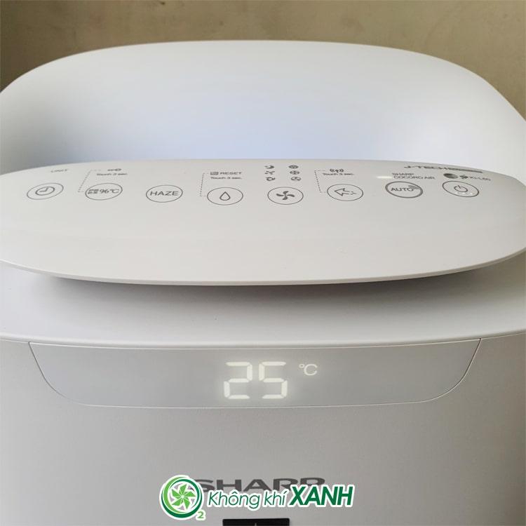 Máy lọc không khí tạo ẩm Sharp KI-L60V-W ảnh 9