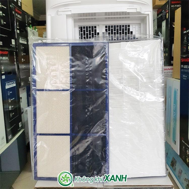 Máy lọc không khí tạo ẩm Sharp KI-L60V-W ảnh 17