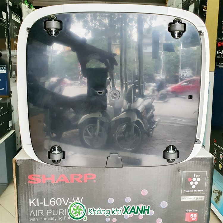 Máy lọc không khí tạo ẩm Sharp KI-L60V-W ảnh 18