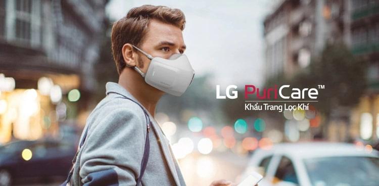 Khẩu trang lọc khí LG PuriCare AP300AWFA ảnh 1