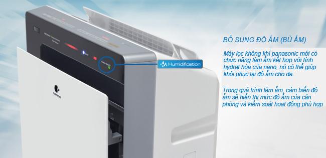 Máy lọc không khí và tạo ẩm Panasonic F-VXK70A